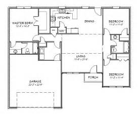 Free Floor Planner Online House Plan J1433 Split Floor Plan
