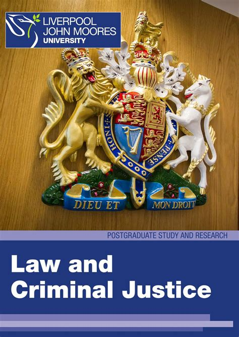 Mba In Criminal Justice In Canada by And Criminal Justice Postgraduate Study With A