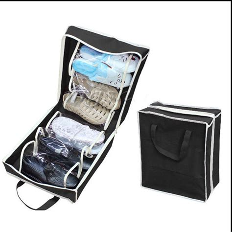 mens shoe box storage 2017 shoe storage bags travel waterproof
