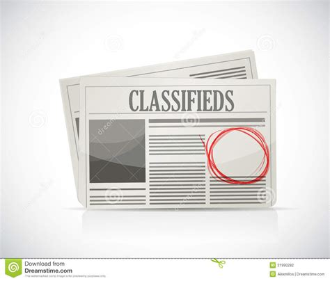 classified ads html template anuncio clasificado peri 243 dico concepto negocio