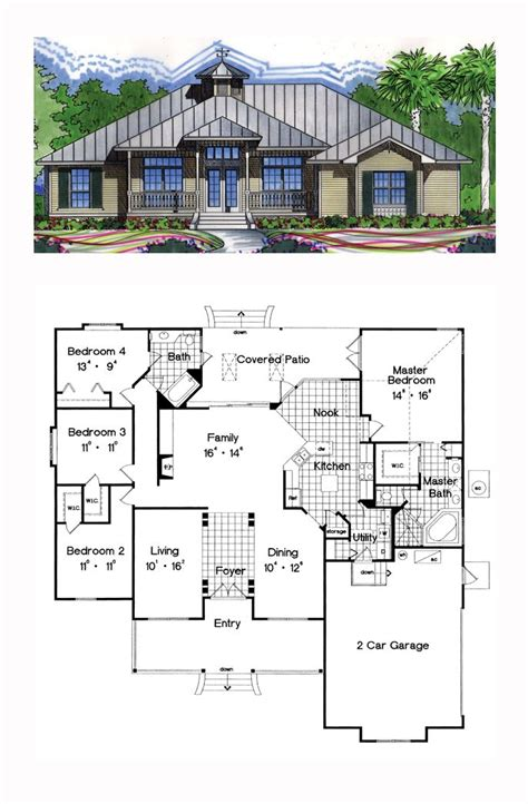 cool home floor plans 16 best images about florida cracker house plans on