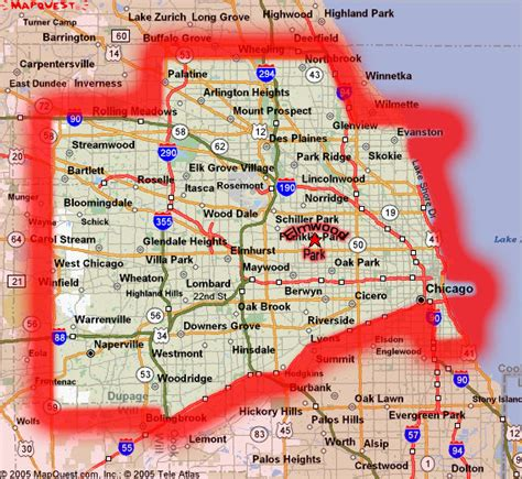 Of Chicago Search Map Of Southwest Chicago Suburbs Search Engine At Search