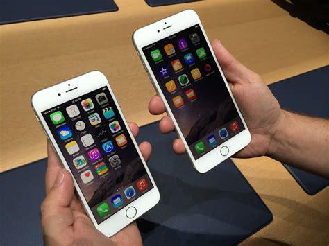 bid iphone apple s nasdaq aapl iphone 6 big and bigger