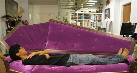 coffin bed 13 unique beds you would never want to leave in the
