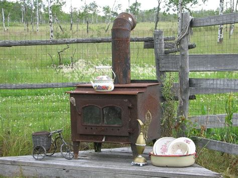 patio wood stove outside wood stoves they say this helsp to heat your