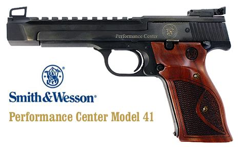 smith and wesson performance center model 41 for sale new optics ready performance center s w model 41 171 daily