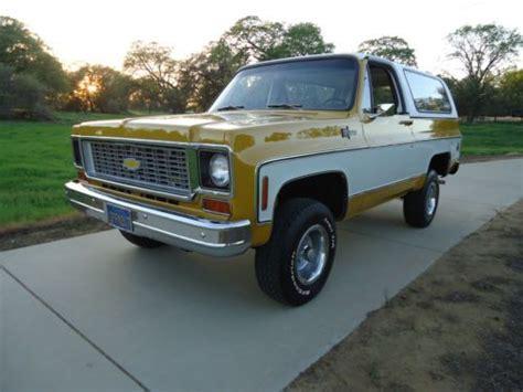 Californa Blazer purchase used california 1973 chevy cheyenne k5 4x4