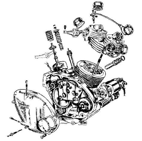 exploded diagram of motorcycle engine autos post