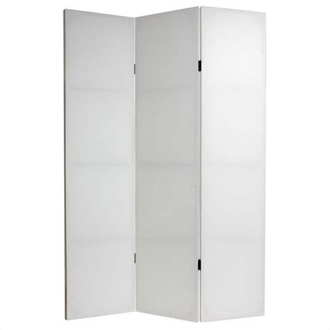 Canvas Room Divider Do It Yourself Canvas Room Divider With 3 Panel In White Cv 6blank 3p