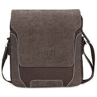 Tas Laptop Royal Polo polo tas selempang pria model vertical large brown jakartanotebook
