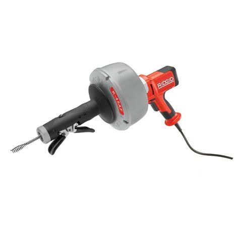 ridgid 115 volt k 45af autofeed drain cleaning machine