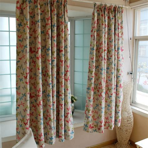 pretty black out curtains double faced beautiful butterfly curtain window curtain