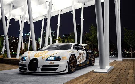 Bugatti Veyron Lights by Bugatti Veyron White Supercar Lights Wallpaper