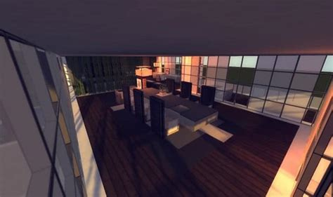 Minecraft Dining Room by Flow Home Minecraft Building Inc
