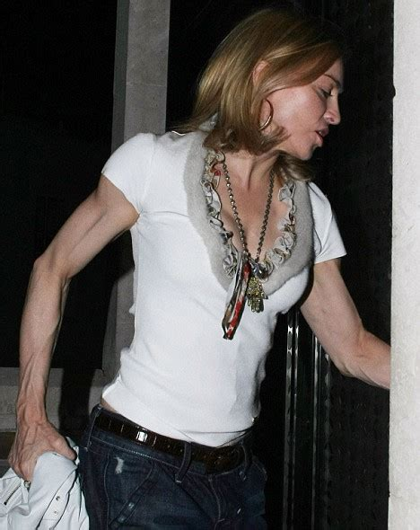 madonna arms madonna s arms get even worse