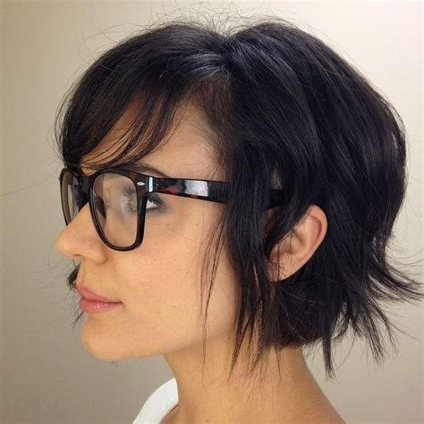 76 best hairstyles and glasses images on pinterest hair dos 2018 popular short hairstyles for women with glasses