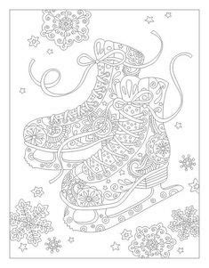 images  coloring pages winter  pinterest