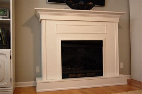 How To Build An Electric Fireplace Mantel by Diy Electric Fireplace Surround Woodworking Projects Plans