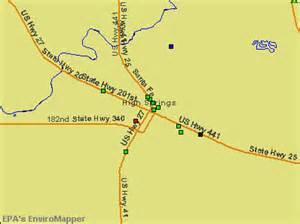 high springs florida map high springs florida fl 32643 profile population maps