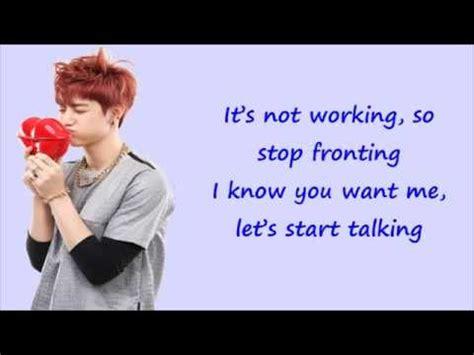 got7 why lyrics got7 a han rom eng lyrics youtube