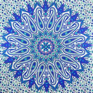 Home 187 tapestries wall hangings 187 mandala tapestries 187 large blue