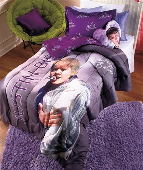justin bieber bedrooms new justin bieber full photo signature comforter set