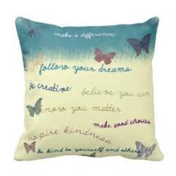 inspirational sayings throw pillow zazzle