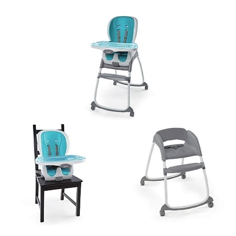 Ingenuity Trio 3 In 1 High Chair Smart Clean 10515 Aqua ingenuity smart clean trio 3 in 1 high chair reviews in highchairs chickadvisor