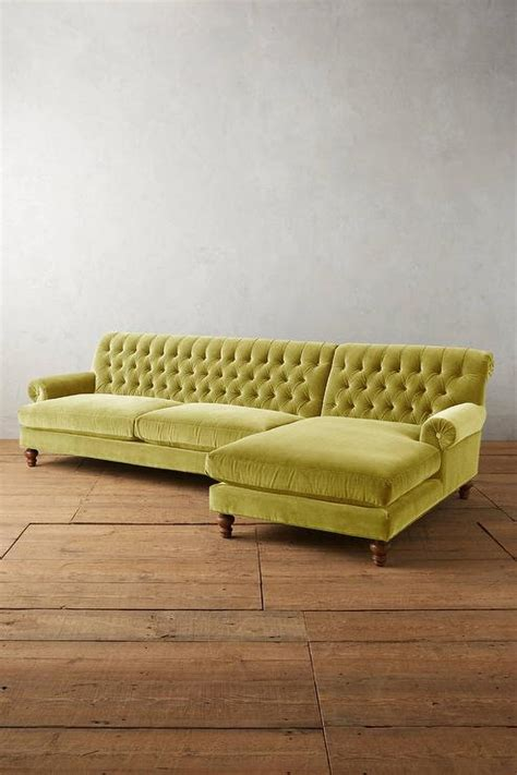 chartreuse velvet sofa chartreuse velvet sofa chesterfield 3 seater settee senso