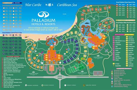 resort map grand palladium colonial resort spa travel by bob