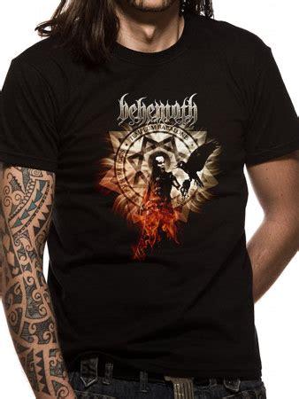 Behemoth Pandemonic Incantatlons 100 Licensed Shirt behemoth firecrow t shirt buy behemoth firecrow t shirt at the kerrang store uk