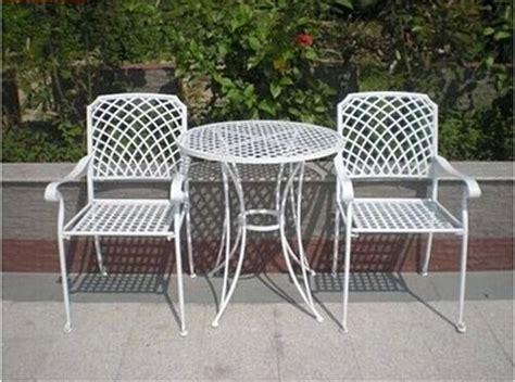 Kursi Meja Besi Vintage kursi besi vintage untuk teras terbuka model kursi rotan
