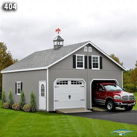 Garage Weathervane 2 Car 2 Story Garage Two Story Garage Horizon Structures