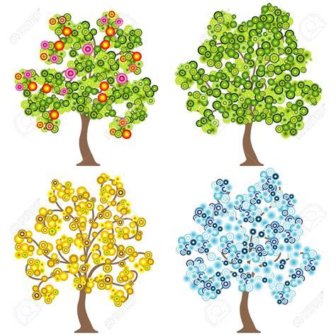 seasons clipart seasons tree clip 101 clip