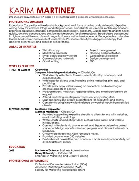 application letter resume examples