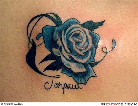 rose tattoo symbolism gallery for gt traditional blue