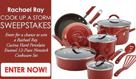 Rachael Ray Magazine Sweepstakes - rachael ray cook up a storm sweepstakes us