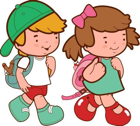 imagenes de niños jugando en la escuela nino y nina clipart