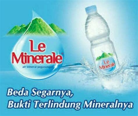 Minuman Le Minerale 600ml jual air mineral le minerale ukuran 600 ml toko bati