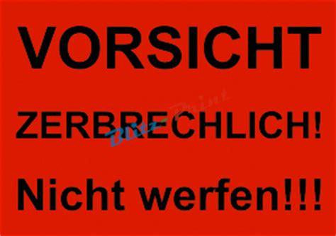 Aufkleber Paket Zerbrechlich by 80 Rote Hinweis Etiketten Versand Aufkleber 105x74mm Div