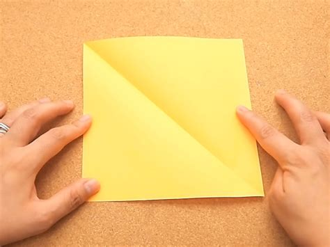 Origami Sheet Of Paper - how to make a square sheet of paper 4 steps with pictures