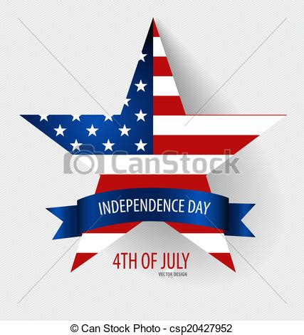 Independence Day Usa Essay by Clipart Vector Of Happy Independence Day Card United States Of America Csp20427952 Search