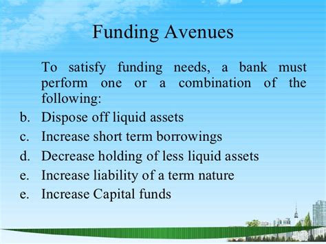 Is Mba Finance Stem by Asset Liability Management Ppt Bec Doms Bagalkot Mba Finance