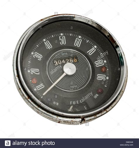 Oldtimer Motorrad Tacho by Speedo Speedometer Stockfotos Speedo Speedometer Bilder