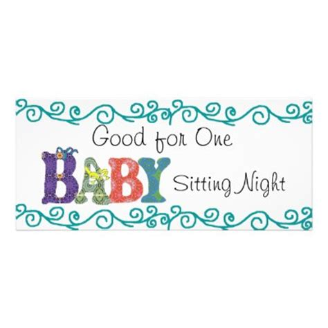 printable babysitting coupon clipart best