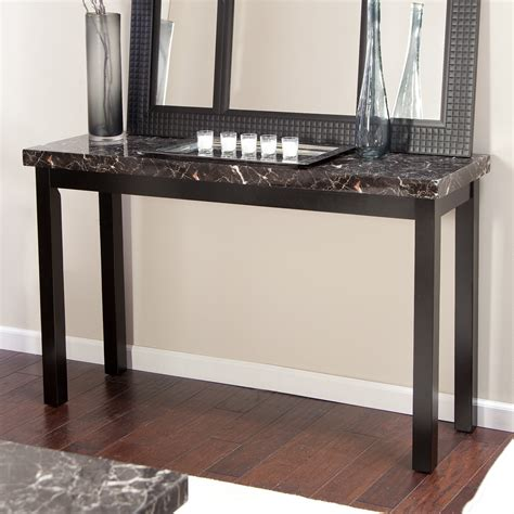 faux marble sofa table galassia faux marble console table console tables at