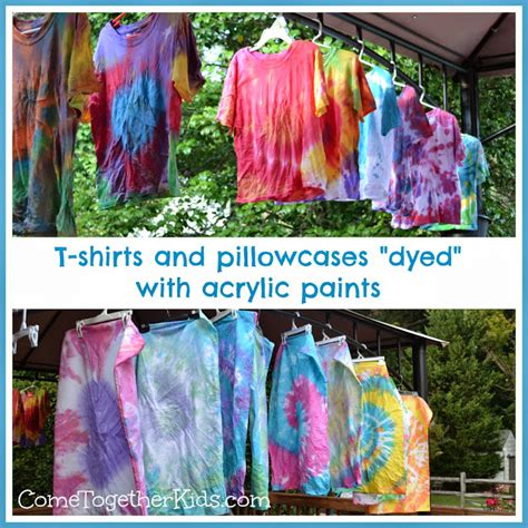 acrylic paint as fabric dye crafts fabric painting think crafts by createforless