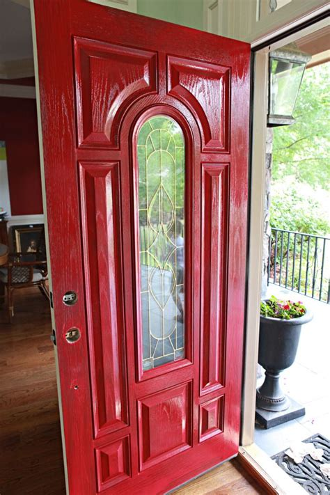 red front doors red front door inspirations pinterest