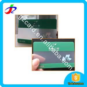 custom plastic business cards custom plastic pvc transparent clear business card buy