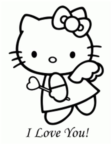 hello kitty angel coloring pages hello kitty family coloring page h m coloring pages